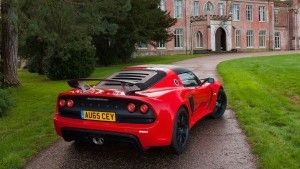 2016 Lotus Exige Sport 350 Red rear bumper full HD image