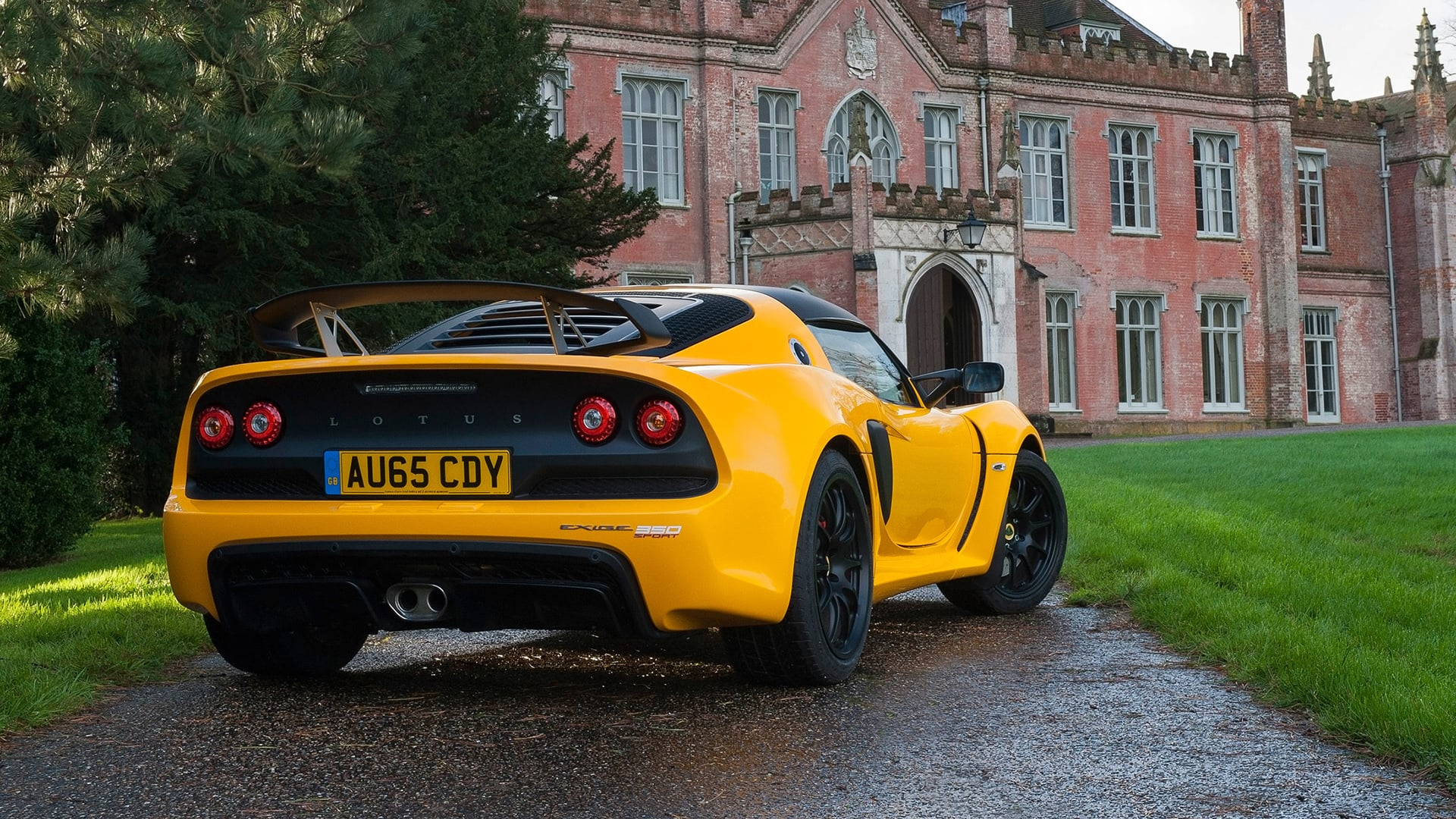Cool 2016 Lotus Exige Sport 350 Yellow HD pic for PC