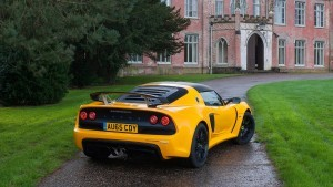 HD 2016 Lotus Exige Sport 350 Yellow back images