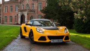 2016 Lotus Exige Sport 350 Yellow front Desktop HD