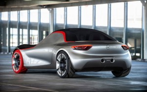 2016 Opel GT back backgrounds