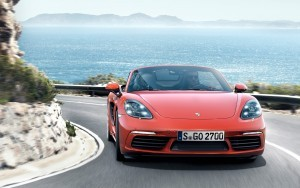 2016 Porsche 718 Boxster S motion 4k wallpaper download