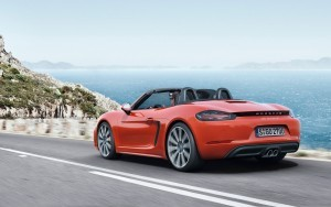 2016 Porsche 718 Boxster S wheels High Resolution wallpaper