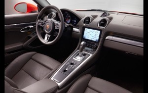 2016 Porsche 718 Boxster interior High Resolution wallpaper