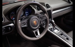 2016 Porsche 718 Boxster interior photo