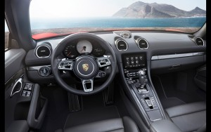 2016 Porsche 718 Boxster interior HD wallpapers