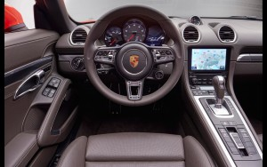 2016 Porsche 718 Boxster salon full HD image