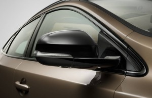 2016 Volvo V40 Cross Country mirror HD pic for PC