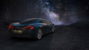 2016 McLaren 570GT milky way computer wallpaper