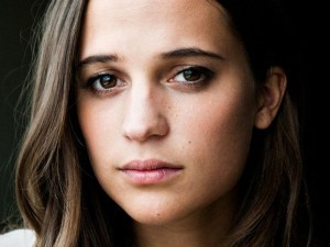 Image of Alicia Vikander for iPhone