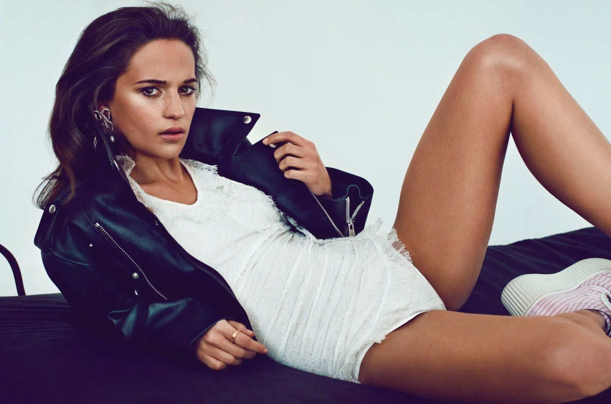 Alicia Vikander hot walpapers for windows