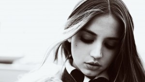 Cool Ana De Armas bw HD pic for PC