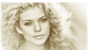 Awesome Annalynne McCord art pictures