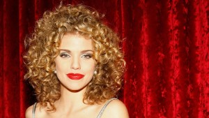 Annalynne McCord red lips