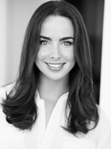 Ashleigh Brewer for Android bw wallpaper