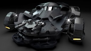 Batman vs Superman Batmobile picture