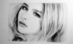 Chloe Moretz draw walpapers for windows