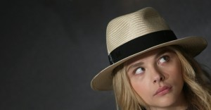 Chloe Moretz in hat widescreen