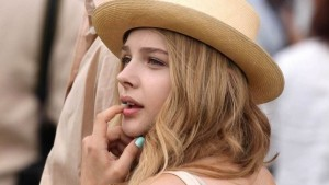 Pics of Chloe Moretz in hat