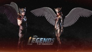 DC's Legends Of Tomorrow Hawkman Hawkgirl Ciara Renee wallpaper download