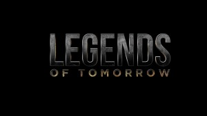 DC's Legends Of Tomorrow black logo HD wallpapers