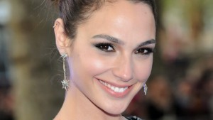 Gal Gadot smile widescreen
