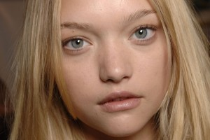 Gemma Ward face background