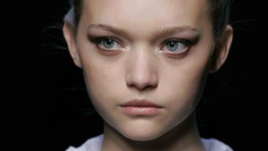 Pics of Gemma Ward face makeup lips eyes