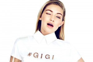 White theme of Gigi Hadid full HD image