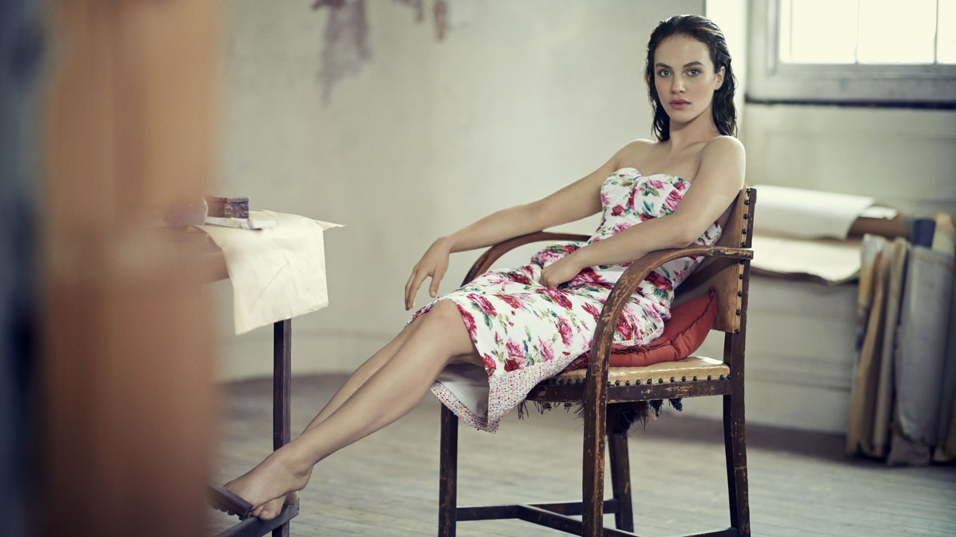 Cool Jessica Brown Findlay HD pic for PC