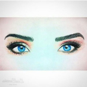 Jessica Green eyes art free download