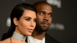 Kanye West and Kim Kardashian necklace gallery