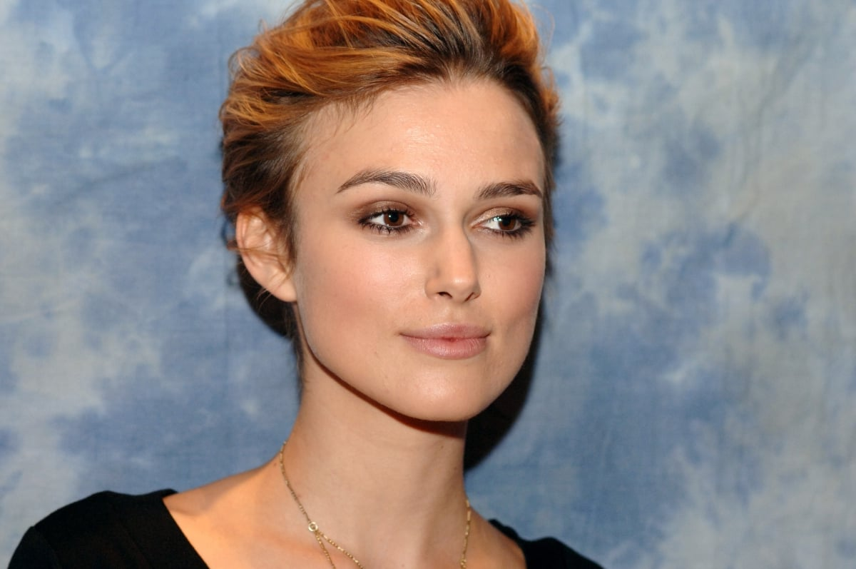 Keira Knightley short hair Keira Knightley