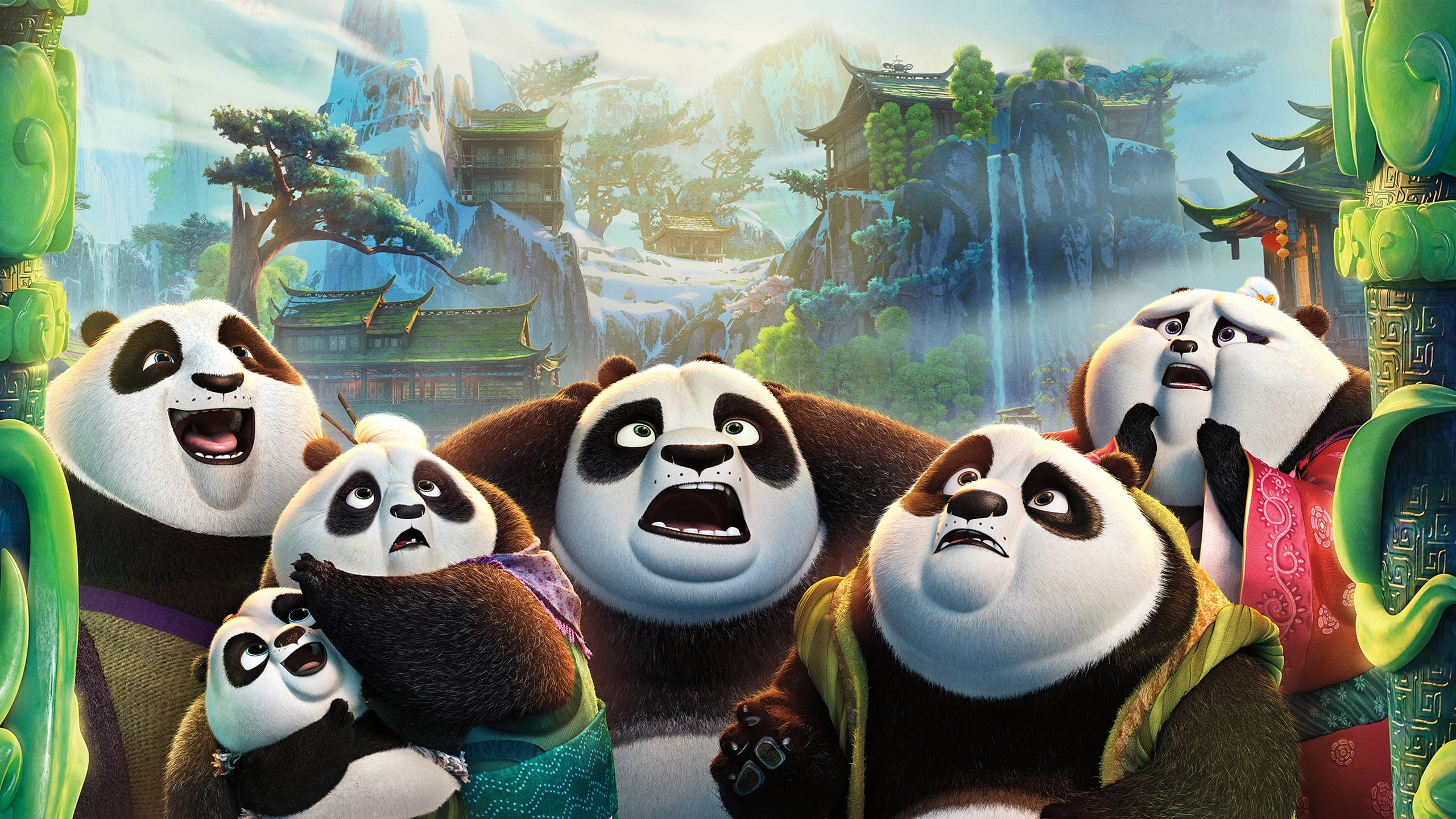 Kung Fu Panda 3 HD wallpapers