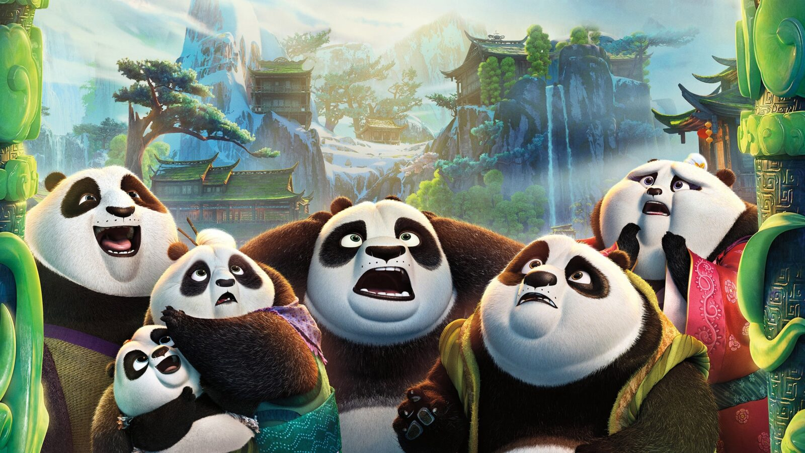 kung fu panda 3 hd wallpapers high quality