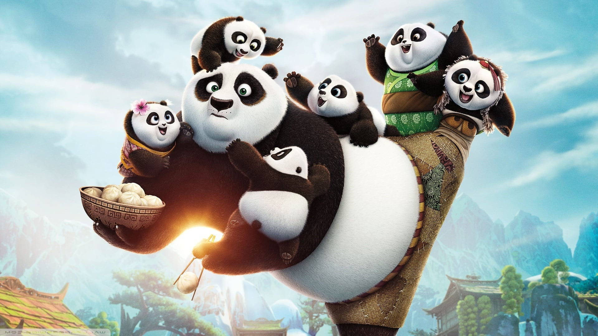 kungfu panda Kung fu panda is a 2008 animated film about an obese and clumsy panda who finds himself designated the prophesied dragon warrior, much to.