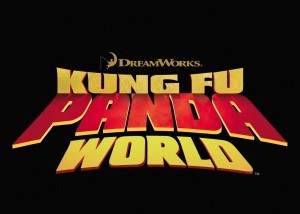 Image of Kung Fu Panda 3 black logo for iPhone