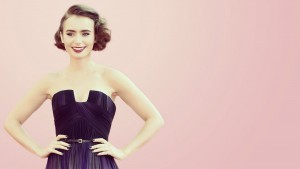 Image of Lily Collins for iPhone