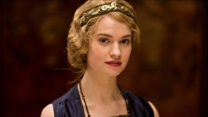 Lily James widescreen