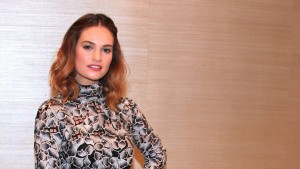 Lily James 4k wallpaper download