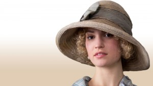 Lily James hat 1920x1080 wallpaper
