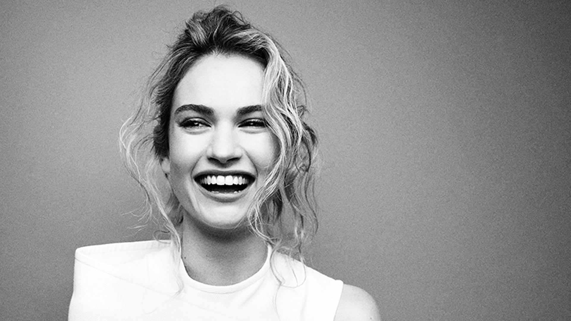 Lily James smile pictures