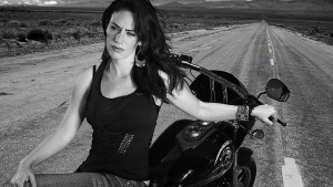 Maggie Siff bw 1920x1080 wallpaper