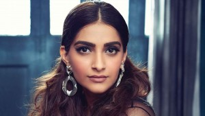 Sonam Kapoor face makeup earrings
