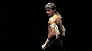 Wallpaper of Tony Jaa Muay Thai for iPad