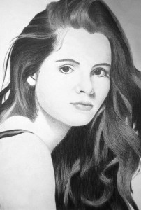 Vanessa Marano draw for mobiles