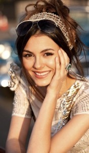 Victoria Justice for mobiles 2016