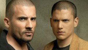 Wentworth Miller with Dominic Purcell desktop HD
