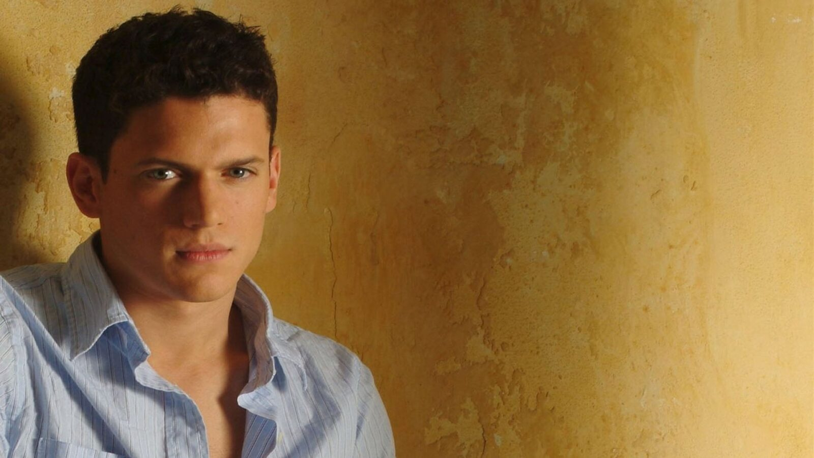 Wallpaper of Wentworth Miller young for iPad