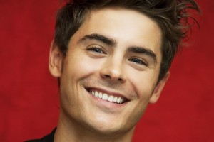 Zac Efron smile for laptop